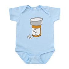 Pill Bottle Infant Bodysuit