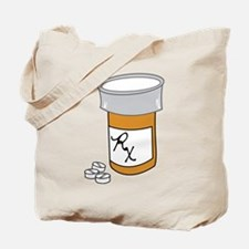 Pill Bottle Tote Bag