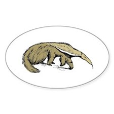 Anteater Oval Decal