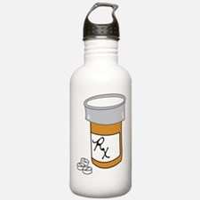 Pill Bottle Water Bottle
