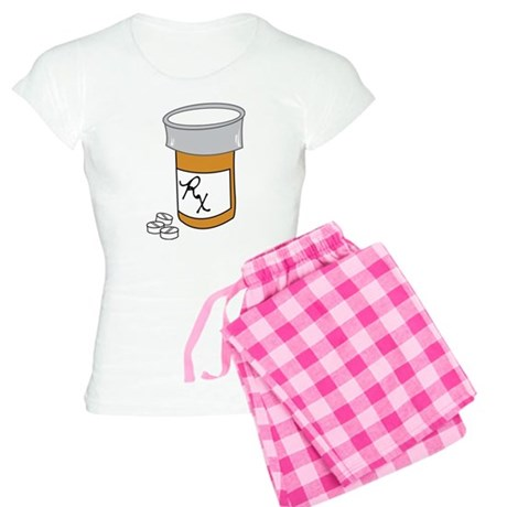 Pill Bottle Women's Light Pajamas