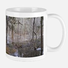 Beaver Made Boom Fire Spot Mug