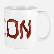 bacon spelled with bacon Mug