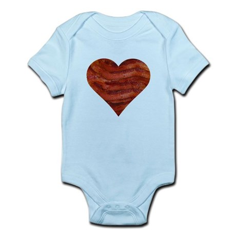 I'm bacon hearted Infant Bodysuit