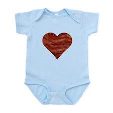 I'm bacon hearted Infant Bodysuit