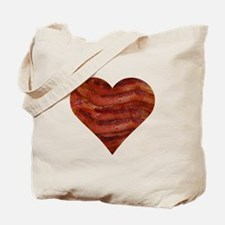 I'm bacon hearted Tote Bag