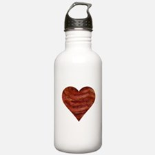 I'm bacon hearted Water Bottle