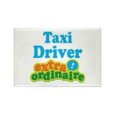Taxi Driver Extraordinaire Rectangle Magnet
