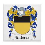 Enterza Coat of Arms Tile Coaster