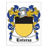 Enterza Coat of Arms Small Poster