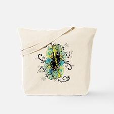 Swirl Clarinet Tote Bag