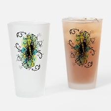 Swirl Clarinet Drinking Glass