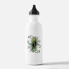 Swirl Clarinet Water Bottle
