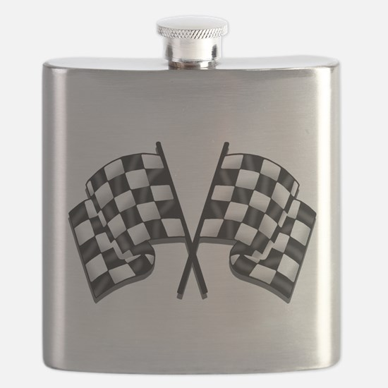 Chequered Flags Flask