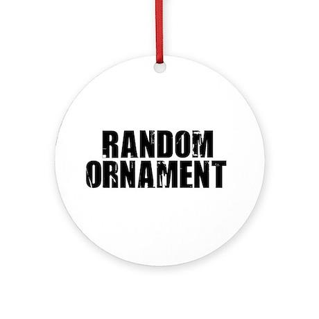 Random Ornament (Round)