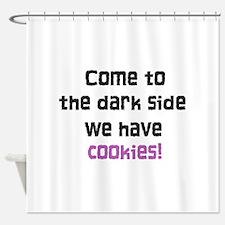The Dark Side Shower Curtain