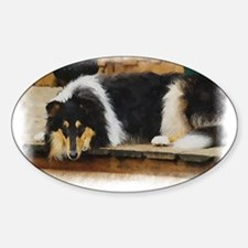 Tri Color Collie Decal