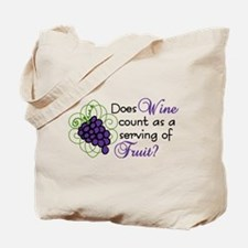Does Wine Count Tote Bag