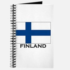 Finland Flag Stuff Journal