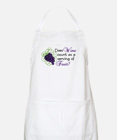 Does Wine Count Apron