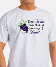 Does Wine Count T-Shirt