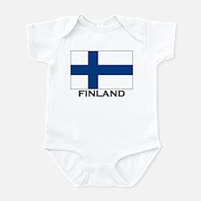 Finland Flag Stuff Infant Bodysuit