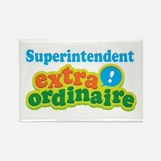 Superintendent Extraordinaire Rectangle Magnet