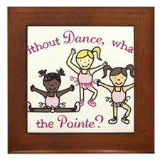 Whats The Pointe Framed Tile