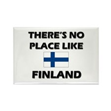 There Is No Place Like Finland Rectangle Magnet