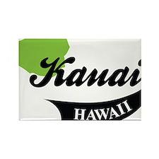 Kauai Hawaii Rectangle Magnet