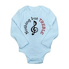 Nothing But Treble Long Sleeve Infant Bodysuit