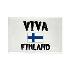 Viva Finland Rectangle Magnet