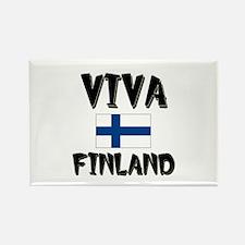 Viva Finland Rectangle Magnet