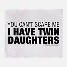 Cant Scare Me I Have Twin Daughters Stadium Blank