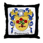 Domenech Coat of Arms Throw Pillow