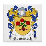 Domenech Coat of Arms Tile Coaster