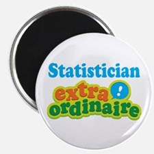 """Statistician Extraordinaire 2.25"""" Magnet (10 pack)"""