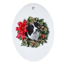 Cute Dog Ornament (Oval)