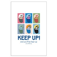 Keep Up Poster Posters