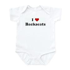 I Love Backseats Infant Bodysuit