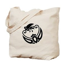 Butterfly-shaped clove having a child Tote Bag