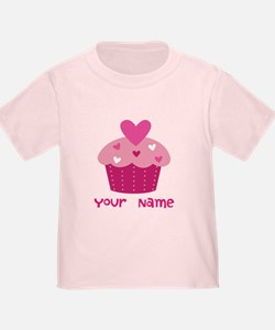 Personalized Cupcake T