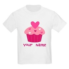 Personalized Cupcake T-Shirt