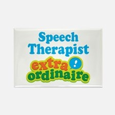 Speech Therapist Extraordinaire Rectangle Magnet (