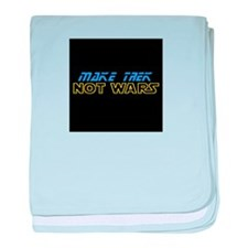 Make Trek Not Wars baby blanket