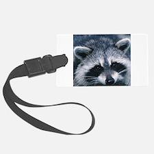 Cute Raccoon Luggage Tag