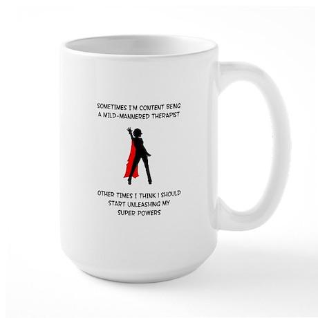 Therapist SUperheroine copy Mugs