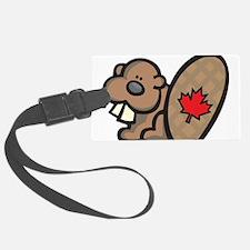 Canada + Beaver Luggage Tag