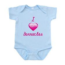 I Love/Heart Barnacles Infant Bodysuit