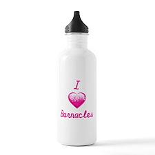 I Love/Heart Barnacles Water Bottle
